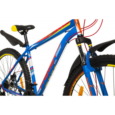 "Велосипед сталь Premier Captain 29 Disc 19"" matt neon blue (SP0001490) мужской"