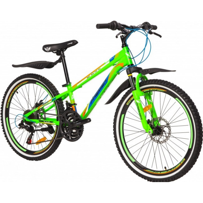 """Велосипед Premier Pirate24 Disc 11"""" зелёный матовый (SP0000348) унисекс"""