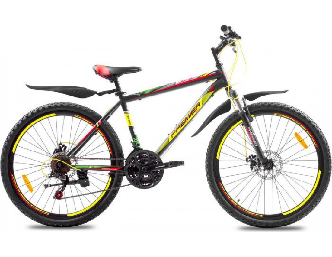 "Велосипед Premier Captain 26 Disc 17"" matt black (SP0001485) мужской"