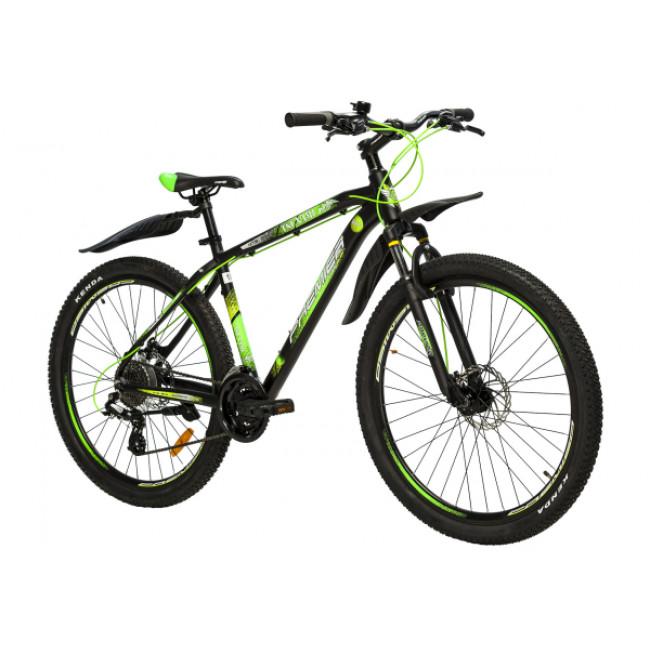 Велосипед Premier Tsunami 27 18 (2018) Black - Green (SP0004690) мужской