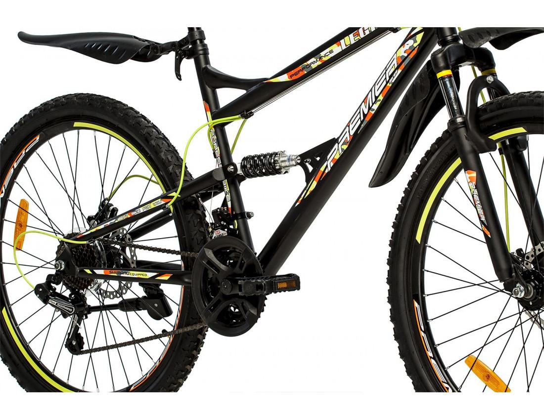 Велосипед PREMIER LEGION 26 18 [2018] BLACK (SP0004699) унисекс