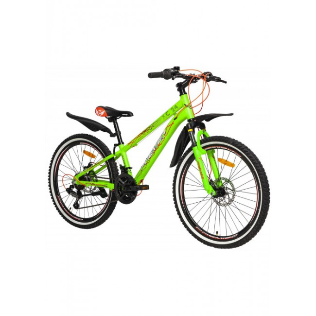 Велосипед PREMIER XC 24 DISC 11 [2018] GREEN (SP0004915) подростковый
