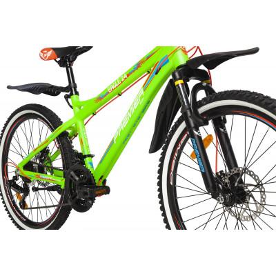 Велосипед PREMIER EAGLE 24 DISC 15 [2018] GREEN (SP0004917) подростковый