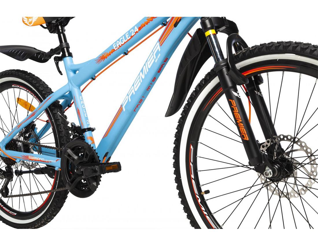 Велосипед PREMIER EAGLE 24 DISC 15 [2018] TURQUOISE (SP0004916) подростковый