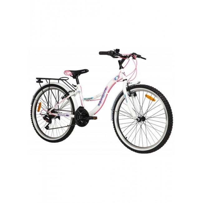 Велосипед PREMIER TRIUMPH 24 V-BRAKE 13 [2018] WHITE (SP0004919) подростковый
