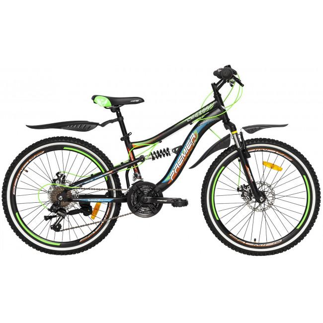 Велосипед PREMIER LEGION 24 DISC 13 [2018] BLACK (SP0004924) подростковый