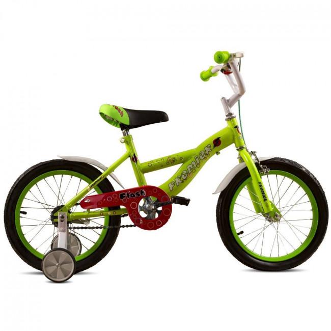 """Велосипед Premier Flash 16"""" Зеленый (SP150s16l) детский"""