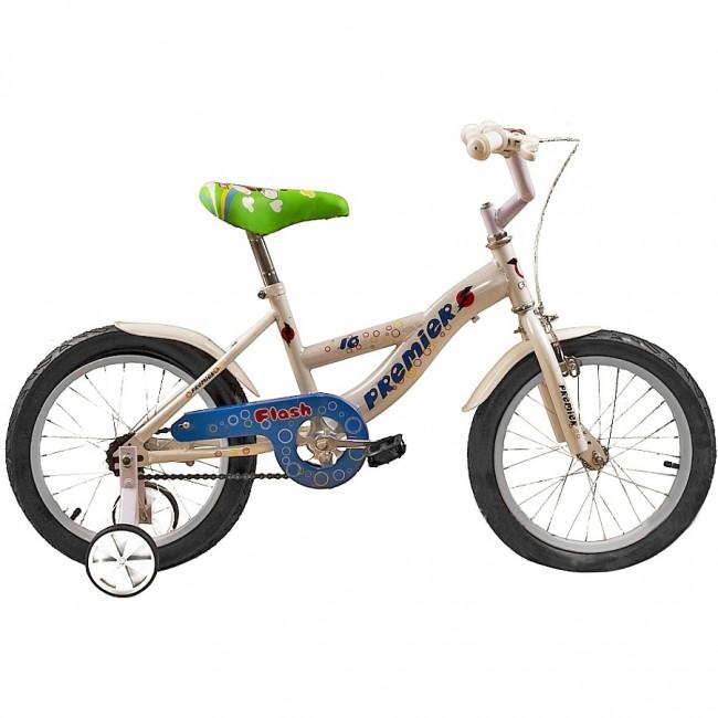 "Велосипед Premier Flash 16"" Белый (SP150s16w) детский"