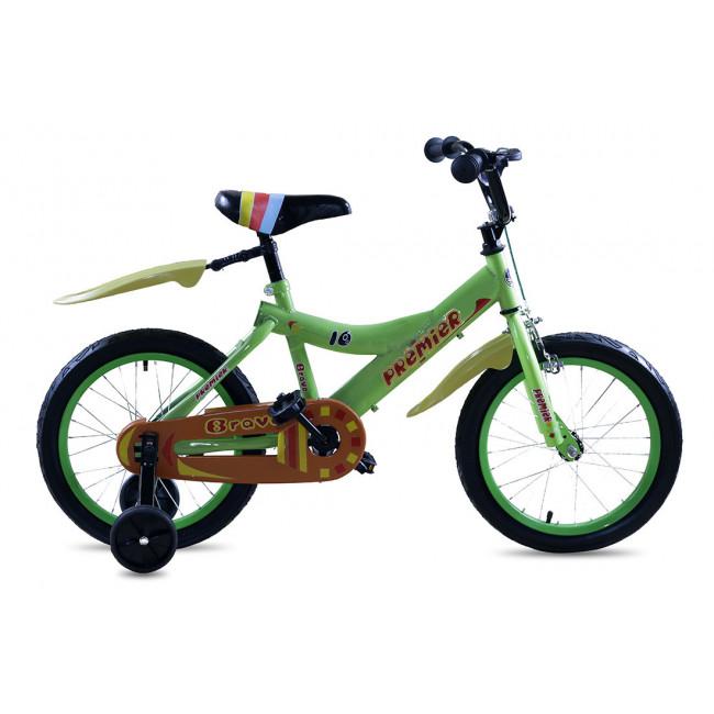 """Велосипед Premier Bravo 16"""" Зеленый (SP159s16l) детский"""
