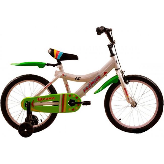 """Велосипед Premier Bravo 18"""" Белый (SP159s18w) детский"""