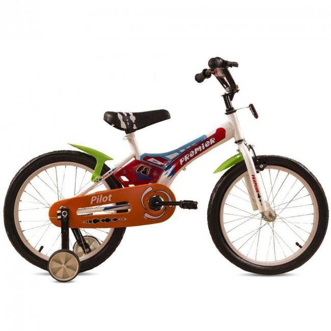 """Велосипед Premier Pilot 18"""" Белый (SP164s18w) детский"""