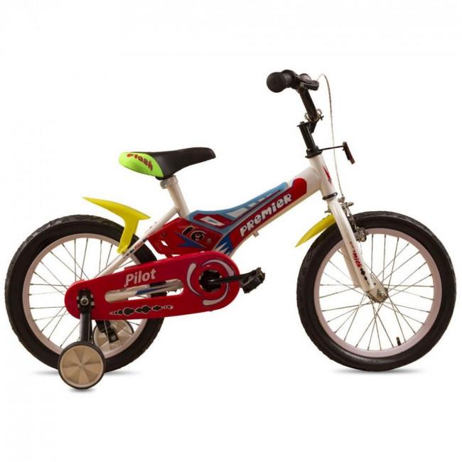 """Велосипед Premier Pilot 16"""" Белый (SP164s16w) детский"""