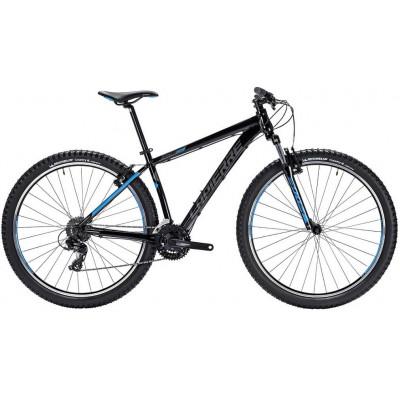 Велосипед LAPIERRE EDGE 129 L [2018] BLACK - BLUE (B122_48L) унисекс