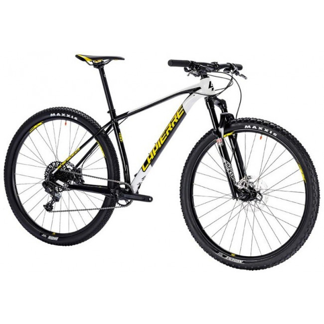 Велосипед LAPIERRE EDGE 329 M [2018] BLACK - YELLOW (B127_44M) унисекс