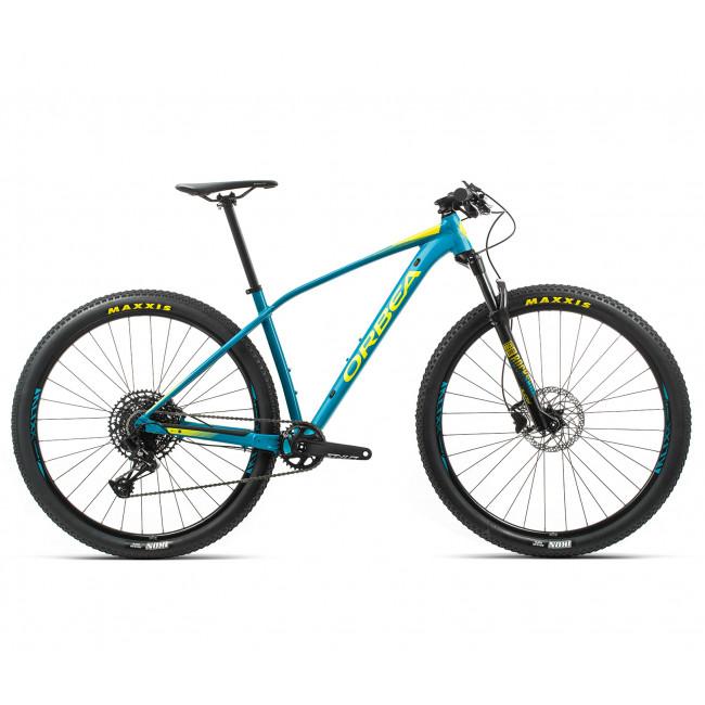Велосипед Orbea Alma 27 H20-Eagle 20 M Blue-Yellow