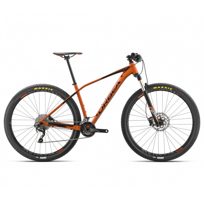 Велосипед Orbea ALMA 29 H50 18 M Orange-Black I21618N5 2018 унисекс