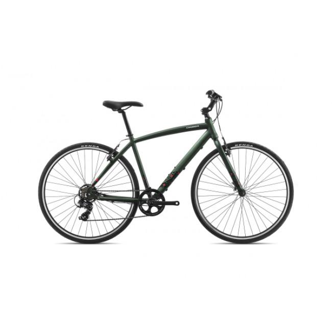 Велосипед Orbea CARPE 50 18 L Green-Red 2018 I42552Y2 унисекс