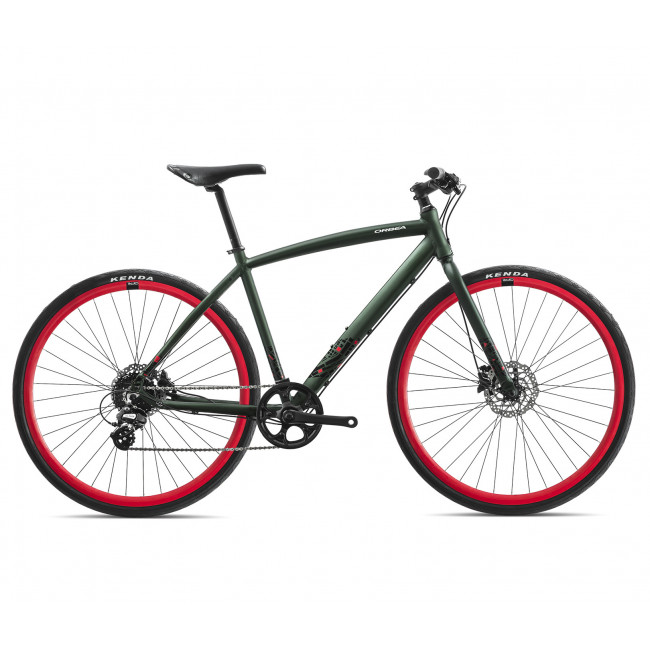 Велосипед Orbea CARPE 30 18 M Green-Red I42748Y2 2018 унисекс