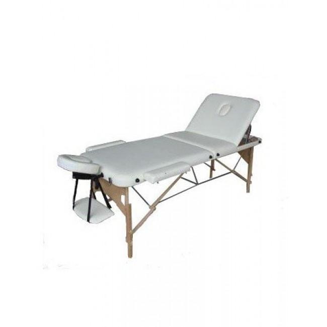 Массажный стол HouseFit HY-30110B бежевый