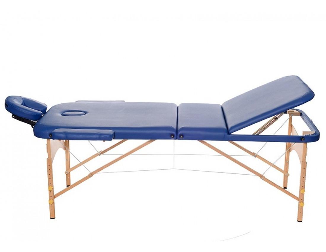 Массажный стол HouseFit HY-30110B кремовый