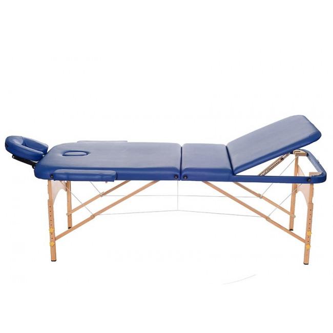 Массажный стол HouseFit HY-30110B синий