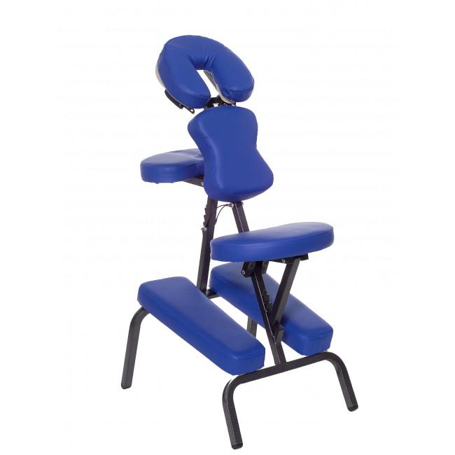 Массажный стул с сумкой HY-1002 синий