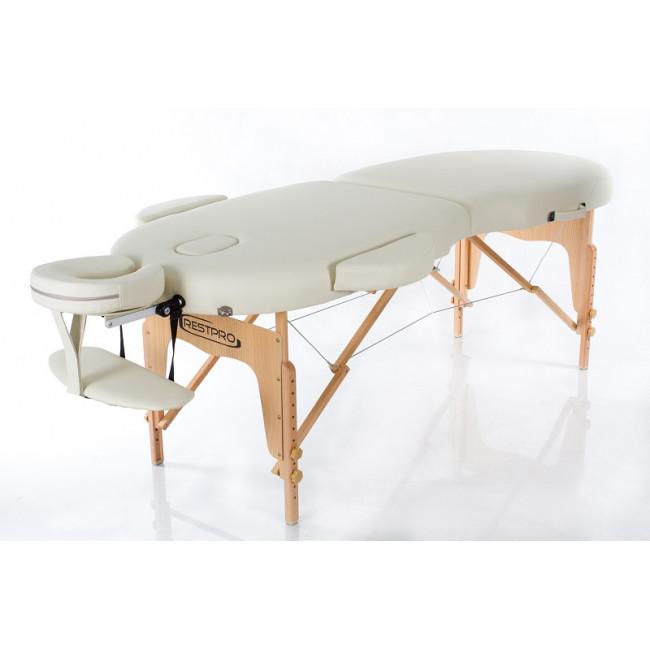 Массажный стол RESTPRO VIP OVAL 2 бежевый