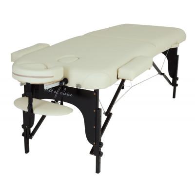 Массажный стол BAS черный