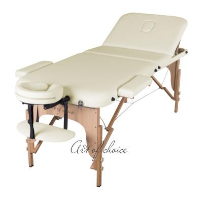 Массажный стол DEN Comfort фиолетовый