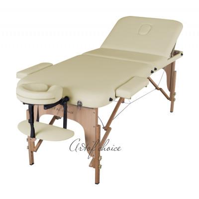Массажный стол DEN фиолетовый