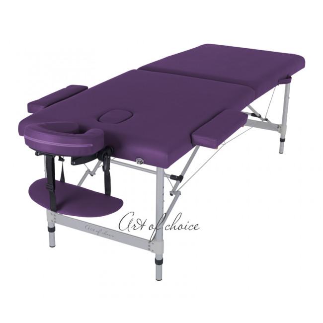 Массажный стол DIO фиолетовый