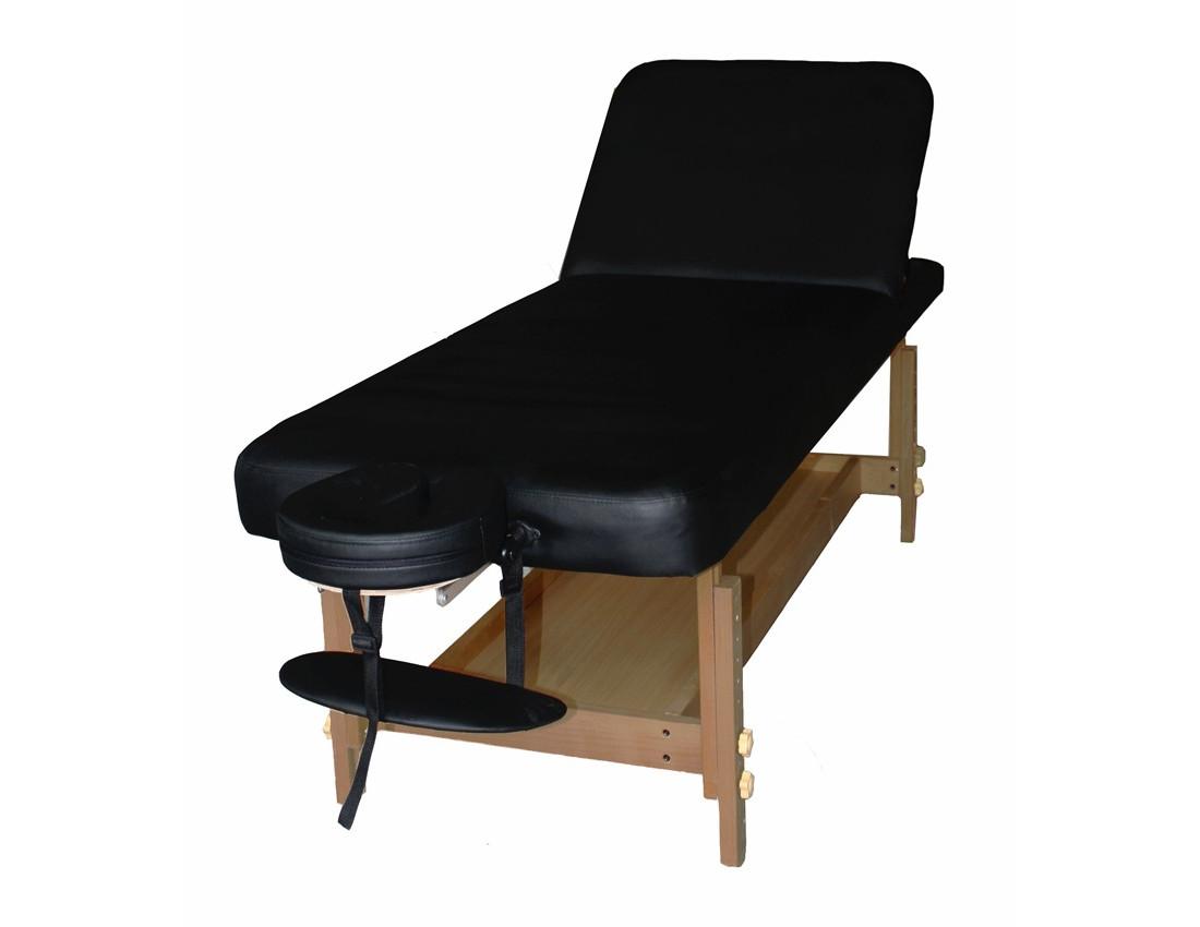 Массажный стол DON черный
