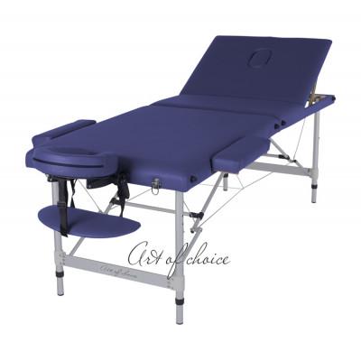 Массажный стол JOY синий