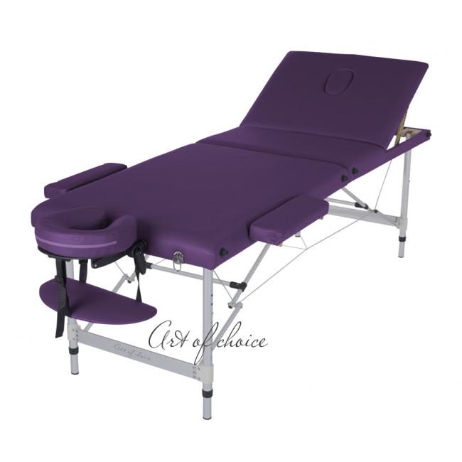 Массажный стол JOY фиолетовый