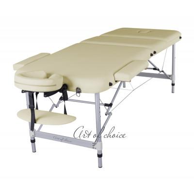 Массажный стол LEO Comfort бежевый