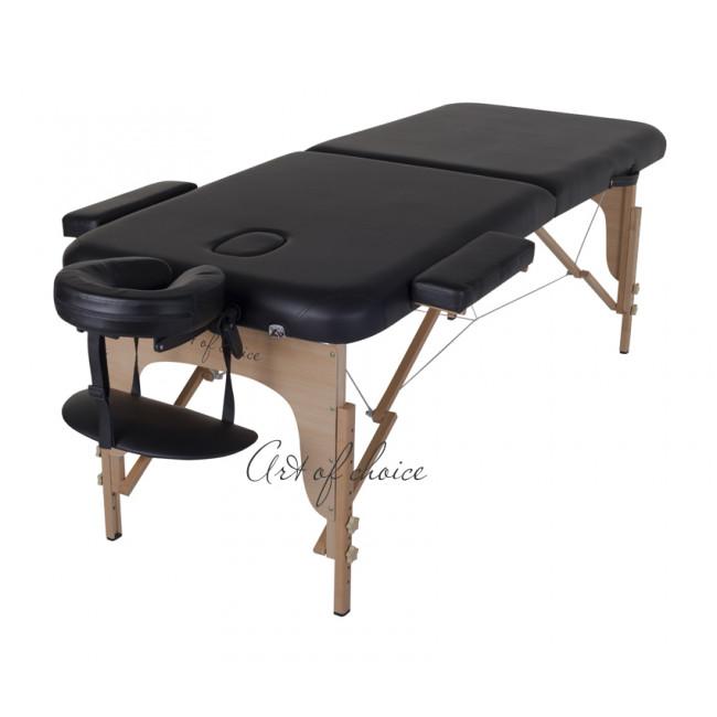 Массажный стол MIA черный