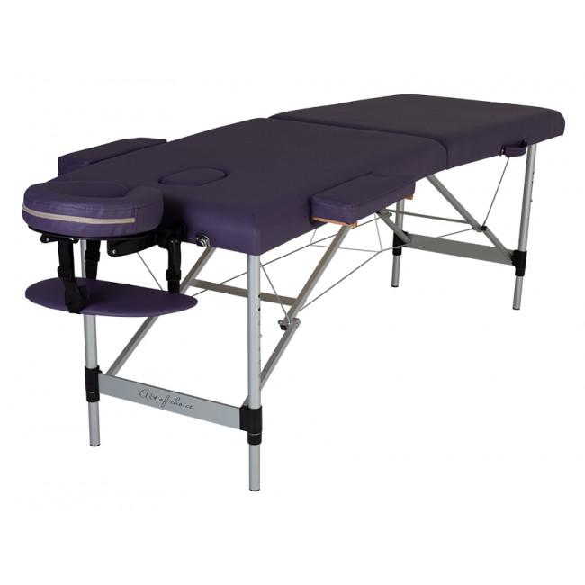 Массажный стол Art of Choice MOL фиолетовый