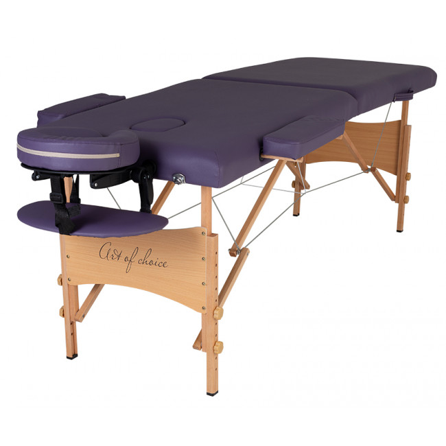 Массажный стол Art of Choice NEL фиолетовый