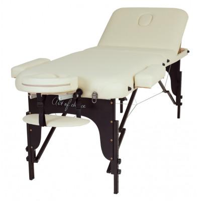 Массажный стол RAF черный