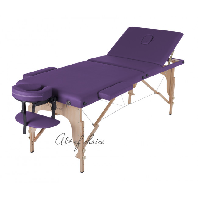 Массажный стол SOL фиолетовый