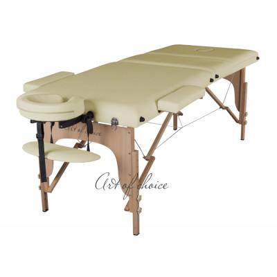 Массажный стол SOL бежевый