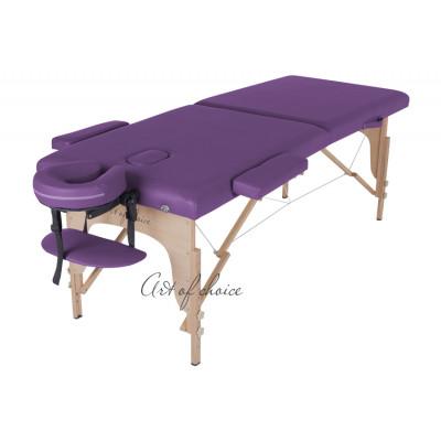 Массажный стол TEO фиолетовый