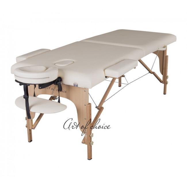 Массажный стол TEO бежевый