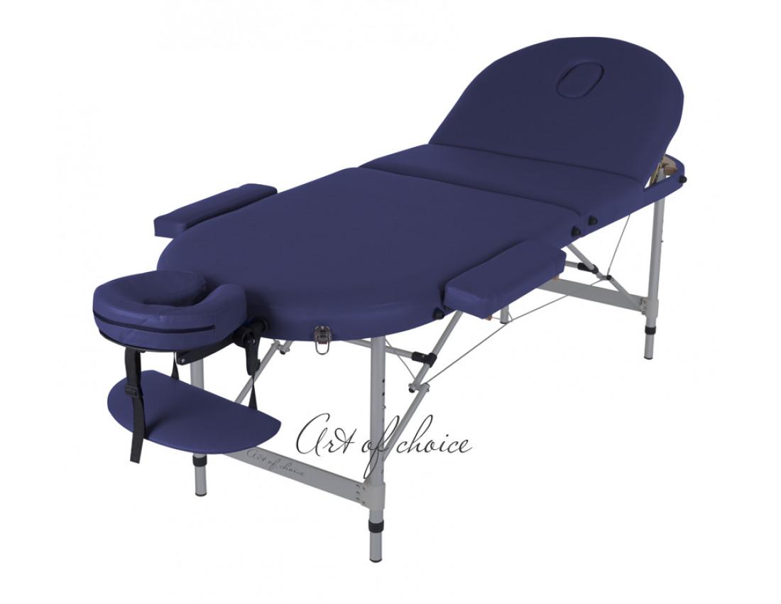 Массажный стол WEN синий
