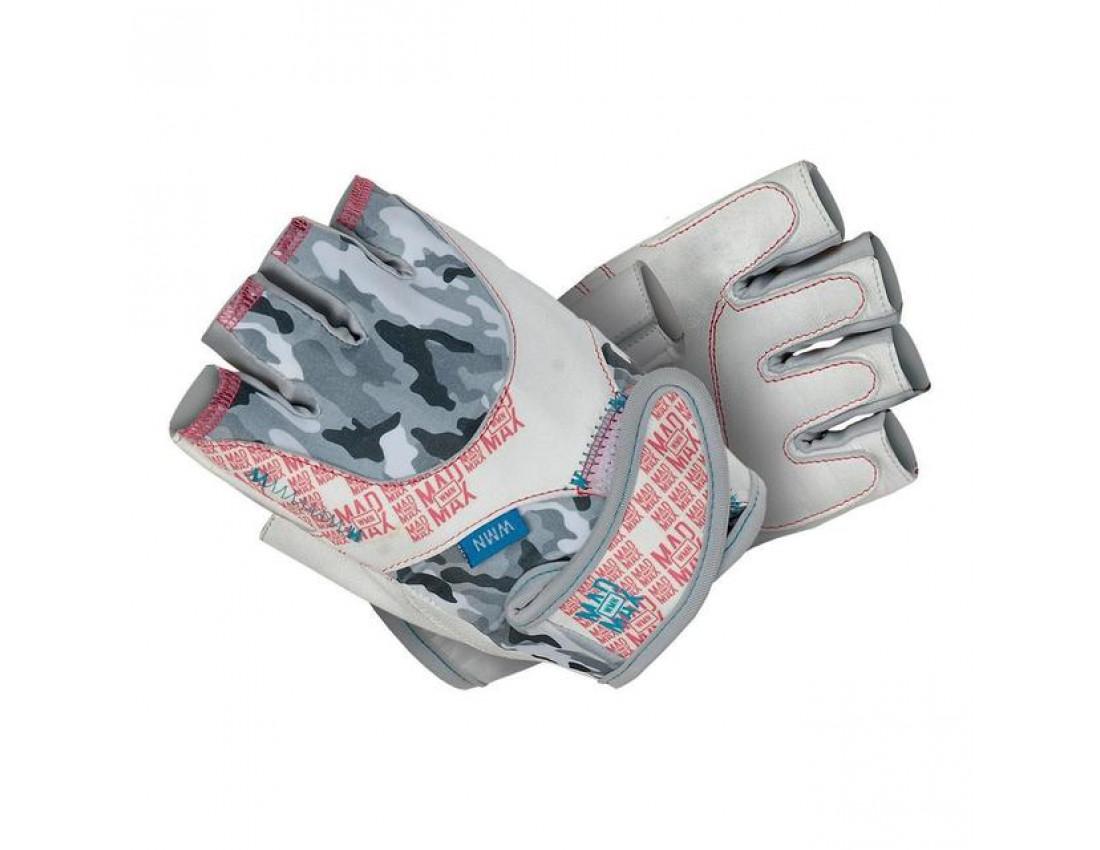 Перчатки для фитнеса женские mad max no matter mfg931/wh размер S